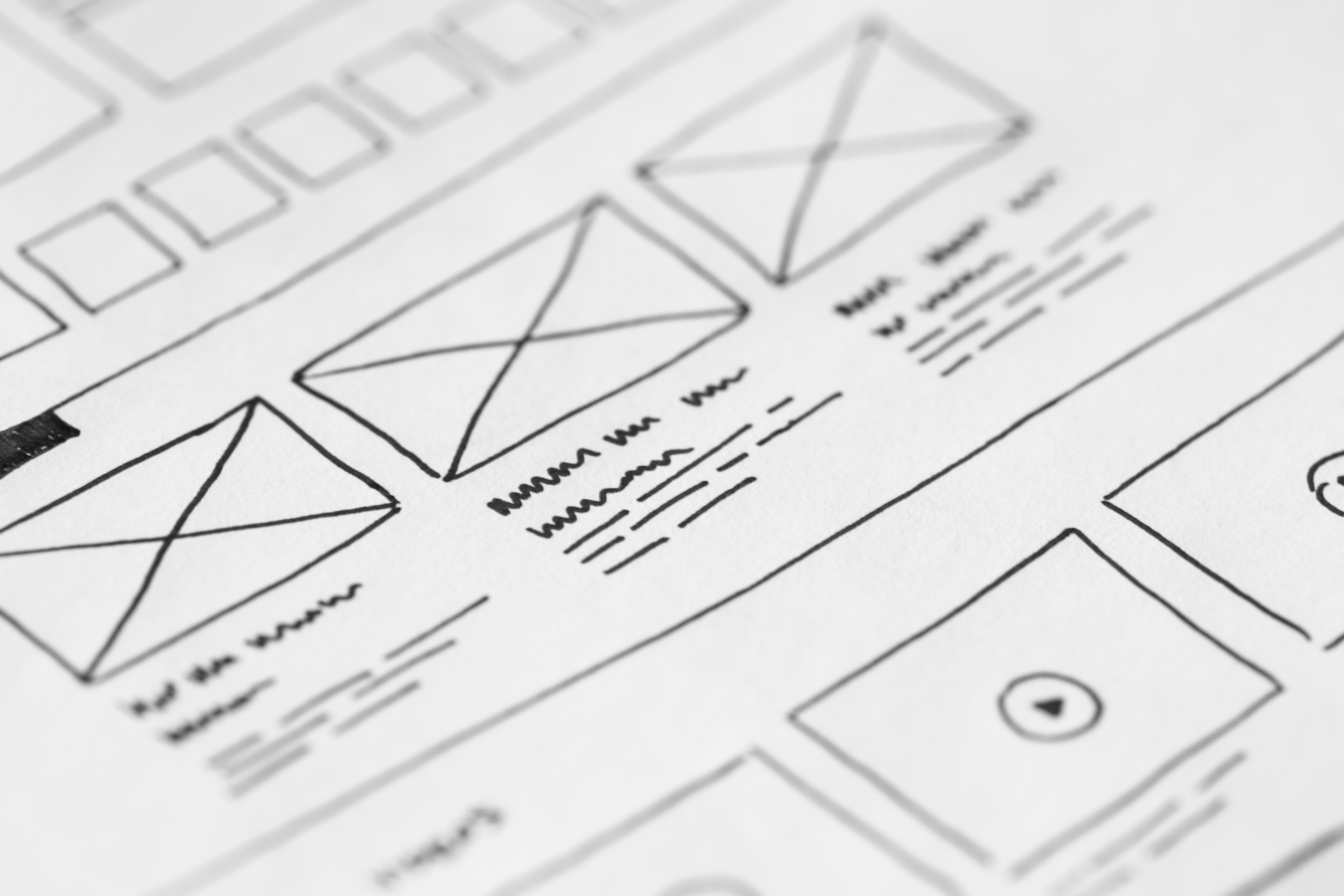 User Experience Mockup Design